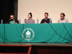 Lecture at Universidad de La Laguna, Tenerife